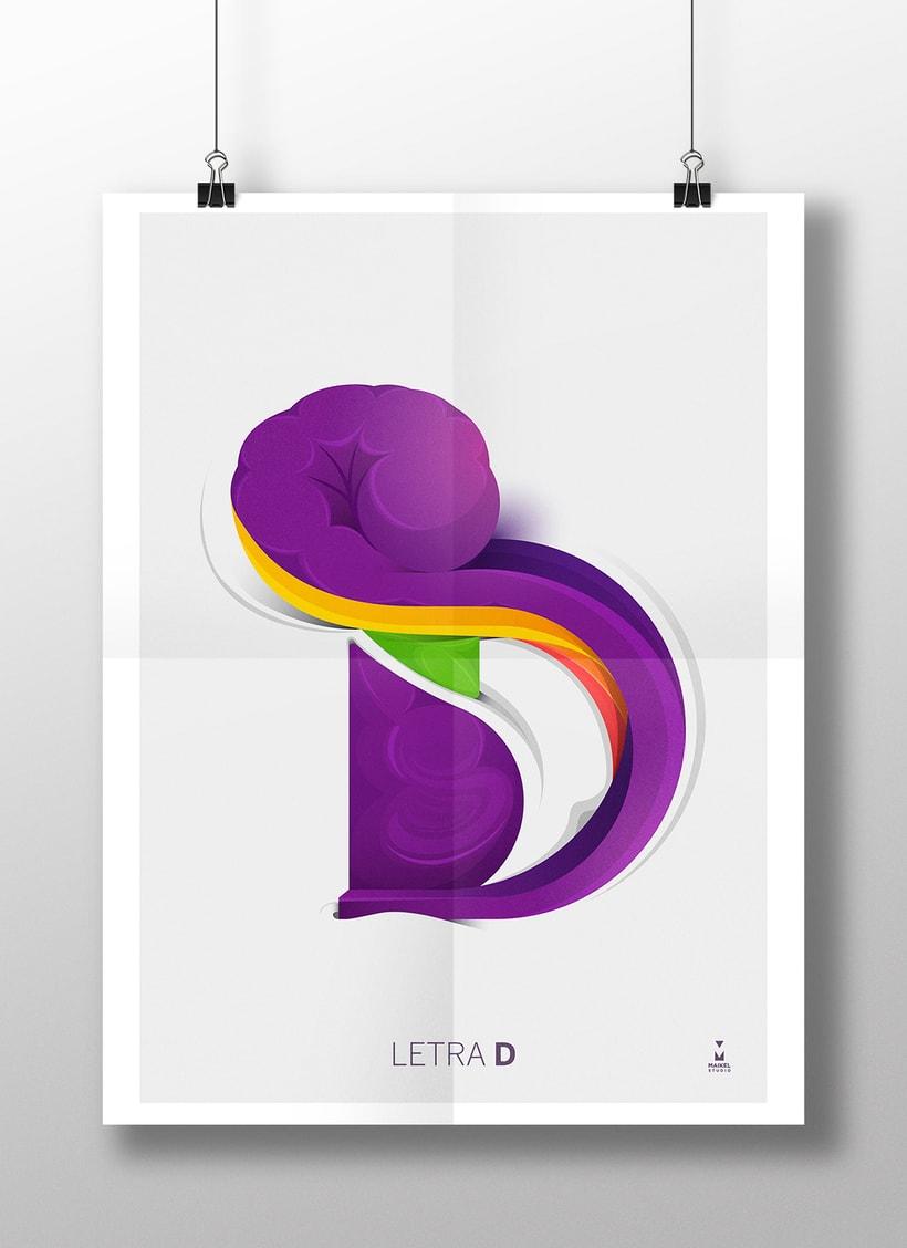 Letra D 1