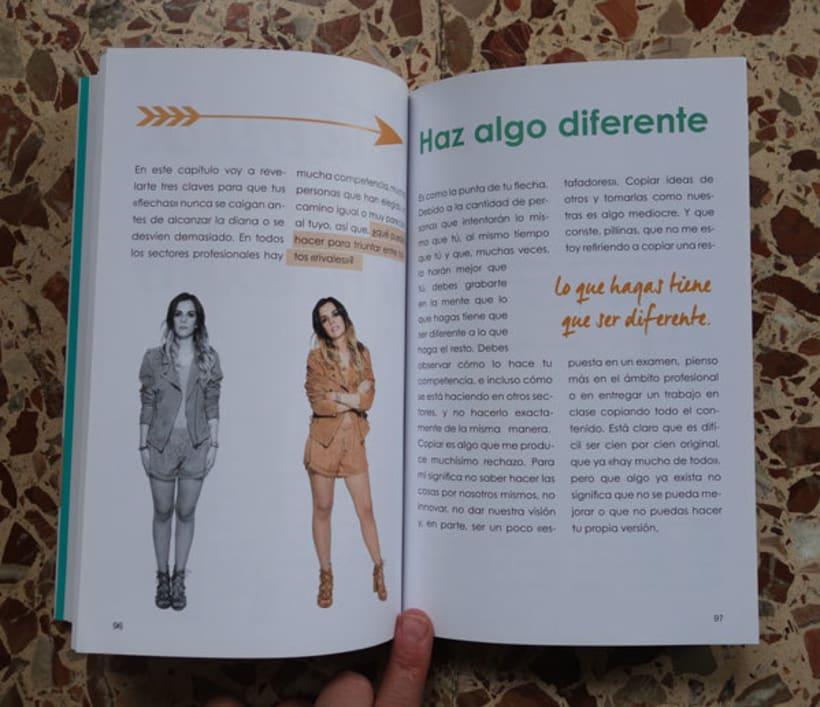 """Diseño y maquetación del libro """"Be yourself"""" de María Cadepe. 3"""