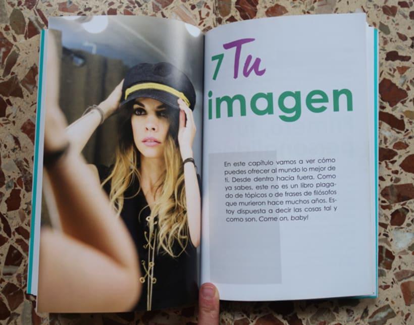 """Diseño y maquetación del libro """"Be yourself"""" de María Cadepe. 2"""