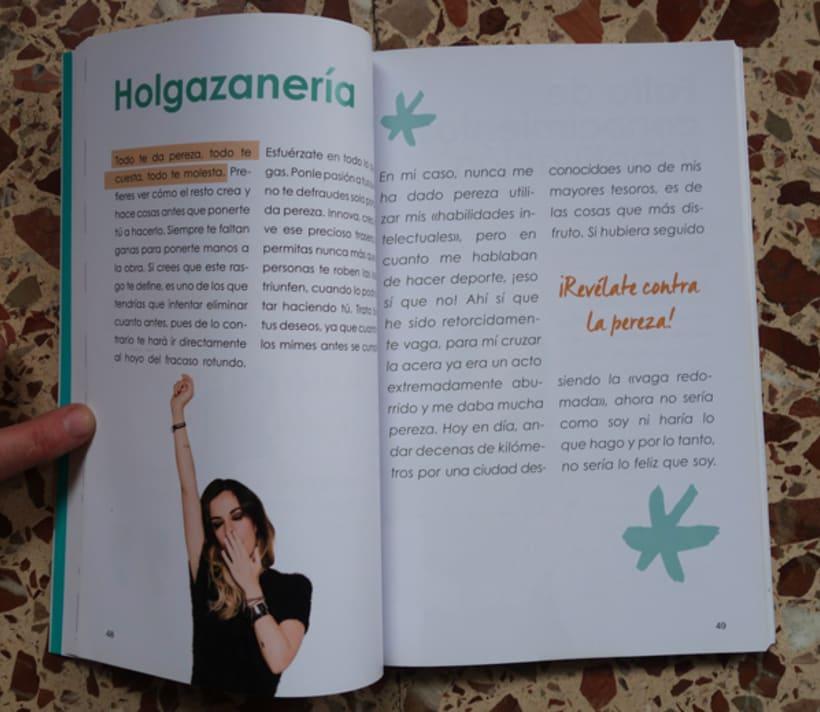 """Diseño y maquetación del libro """"Be yourself"""" de María Cadepe. 4"""