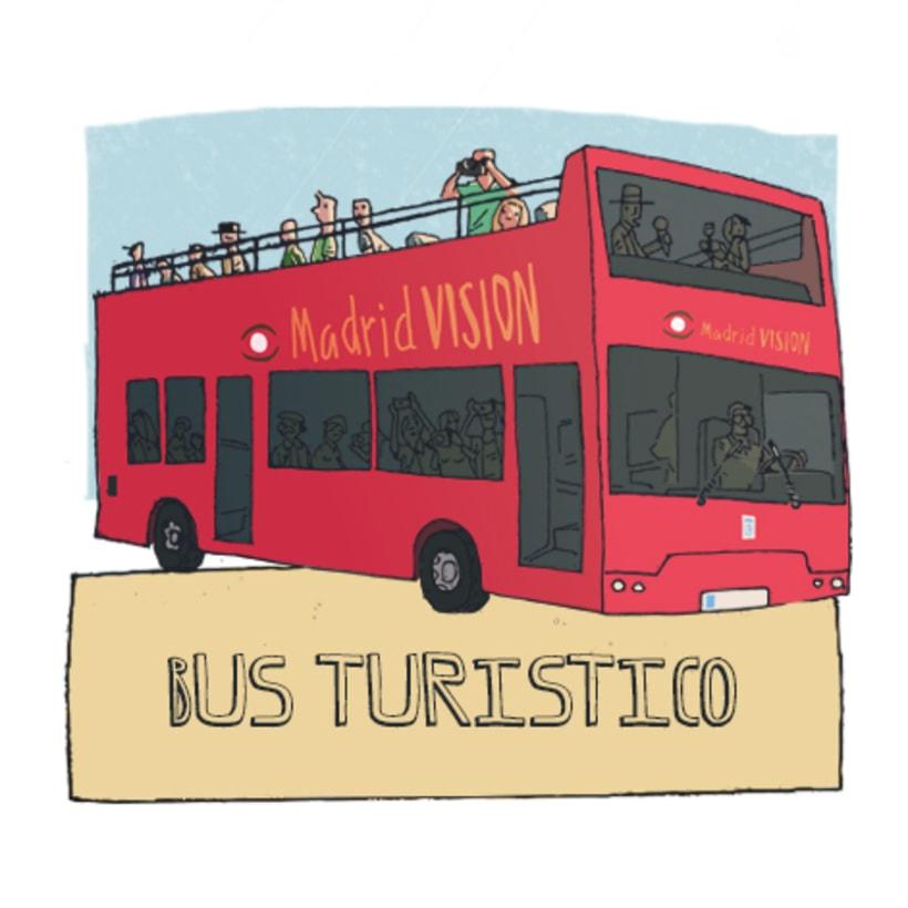 Turismo en Madrid, ilustraciones 2