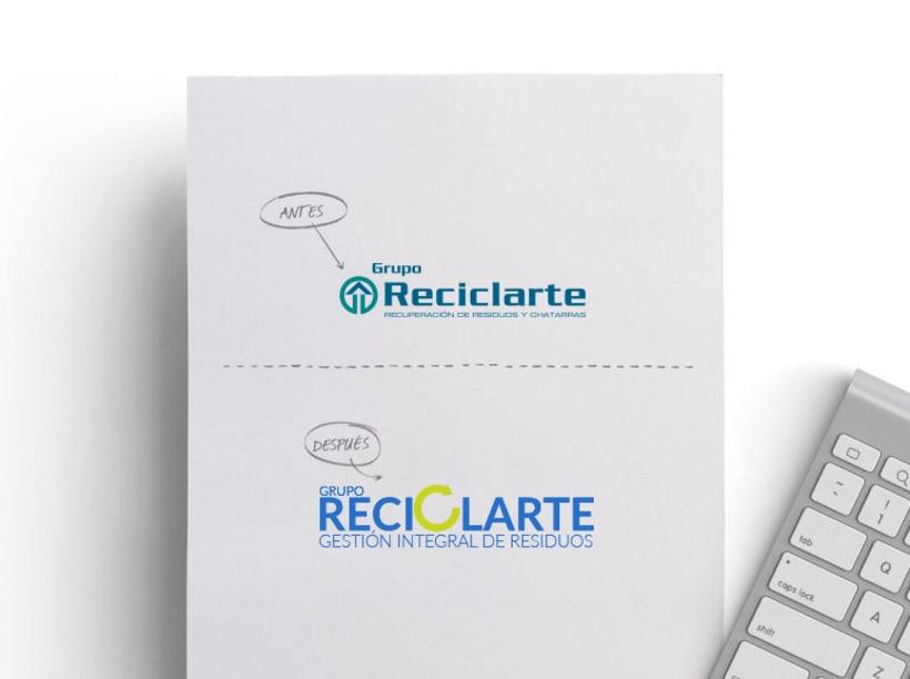 Rebranding Reciclarte 0