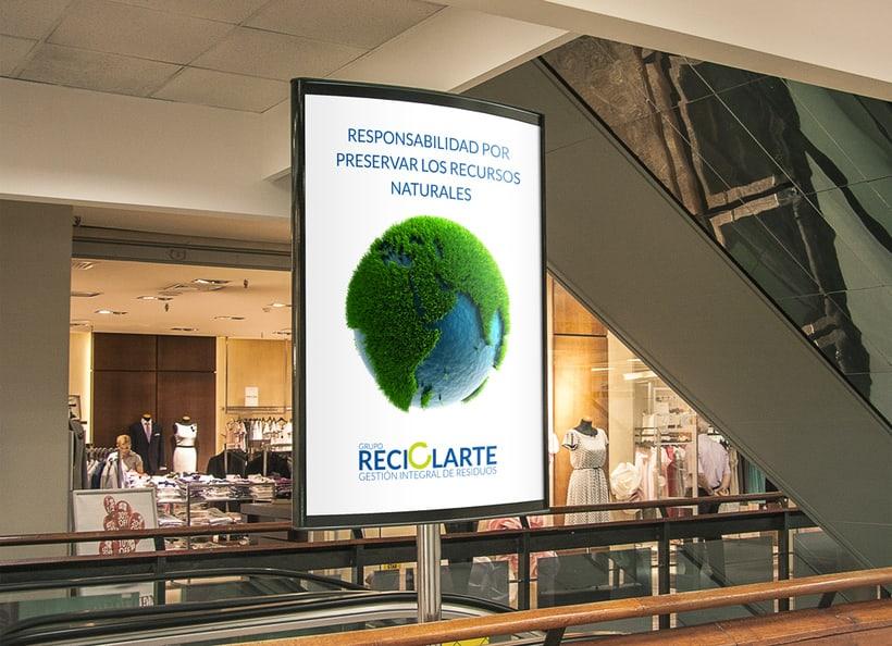 Rebranding Reciclarte 3