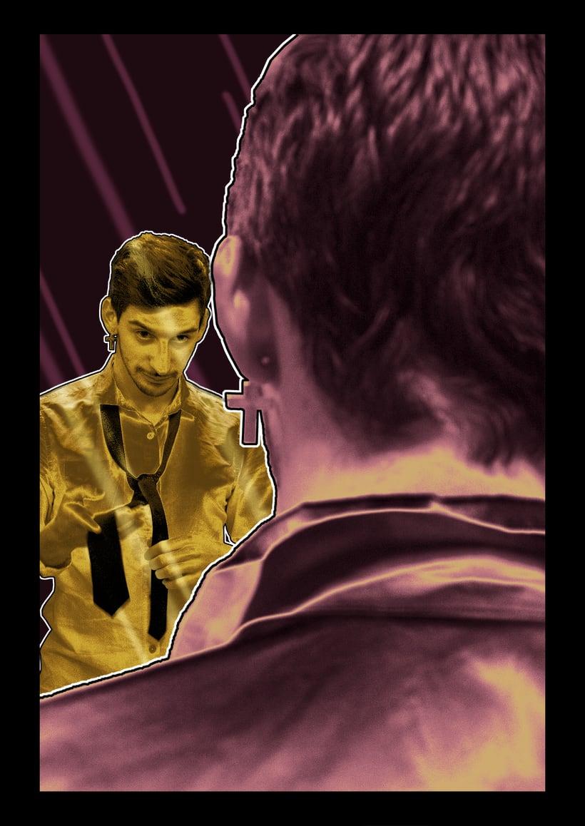 """Ilustraciones para la novela """"Fight Club"""" (1/3 tomo, primeros 10 capítulos) 7"""