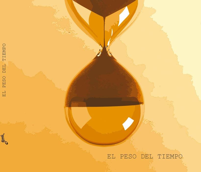 """Arte de Tapa del Disco """"El peso del Tiempo"""" de GEODA 0"""