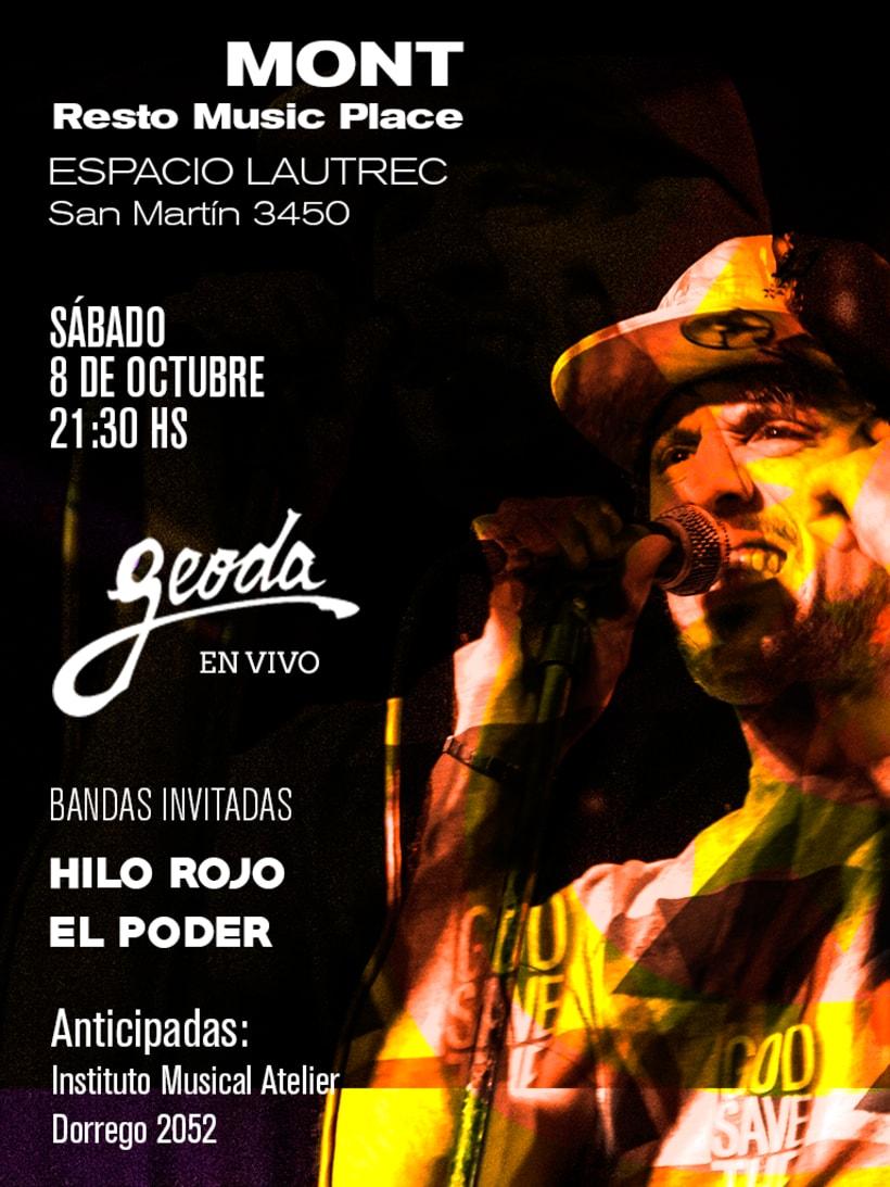 Afiche Poster GEODA -1