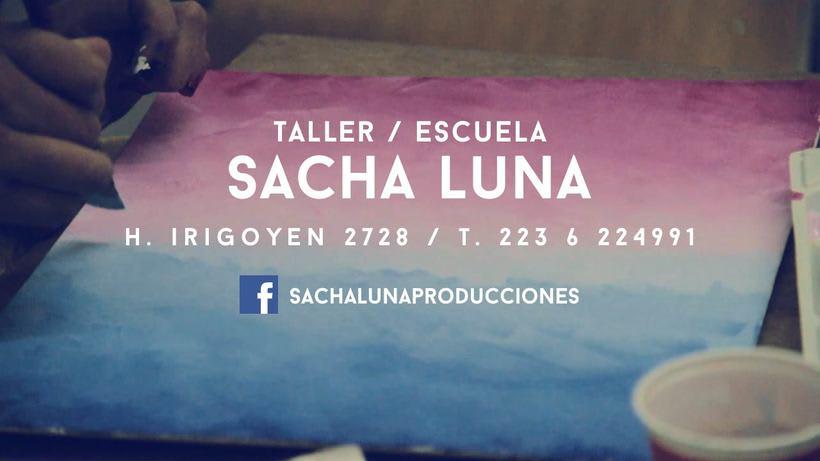 Publicidad Sacha Luna Taller/Escuela de Arte 0