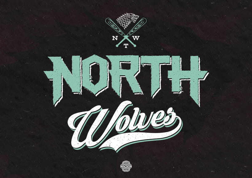 North Wolves Team (Game of Thrones) -1
