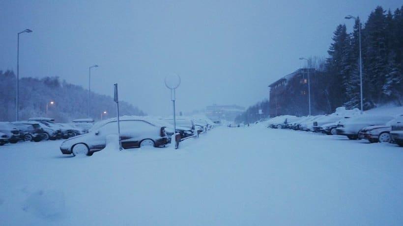 Norge I - En snørik verden | Bodø -1