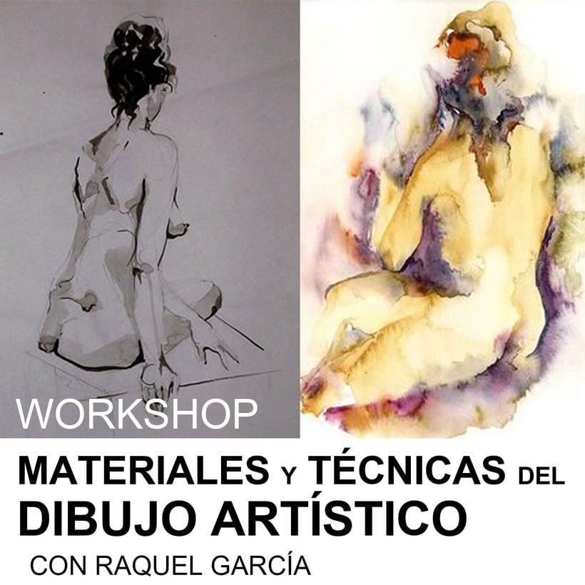 Workshop de Materiales y Técnicas del dibujo Artístico 0