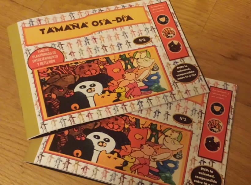 Fanzine TAMAÑA OSA-DÍA 1