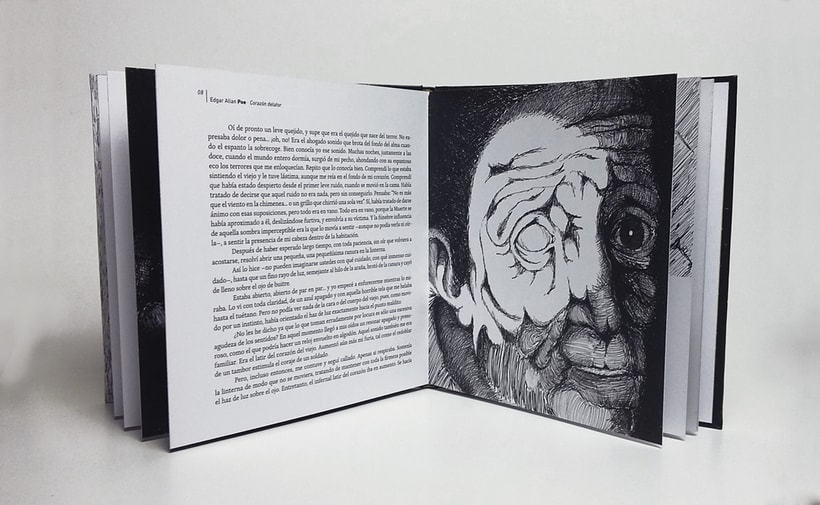 El corazón delator - Ilustración para adultos 1