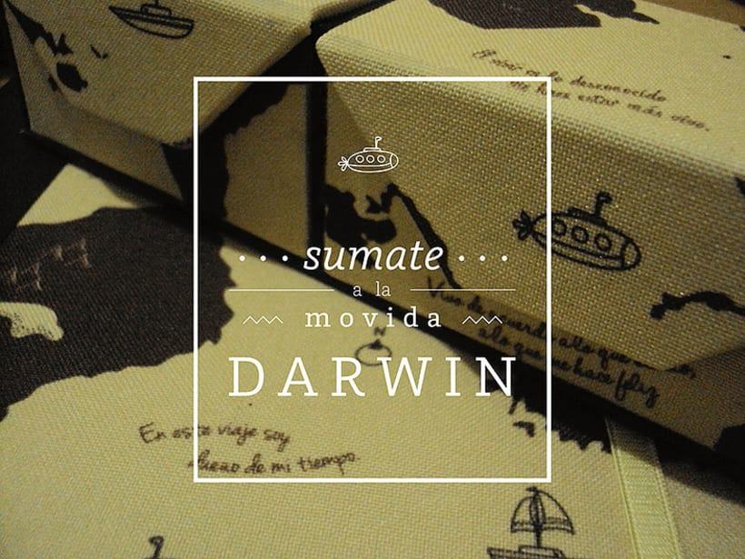 DARWIN, Set de librería 0