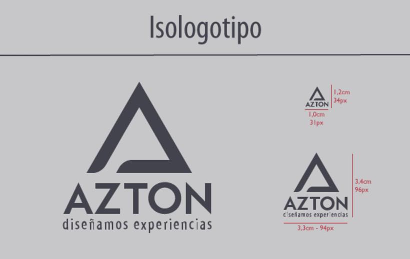 Azton - Identidad Corporativa 2