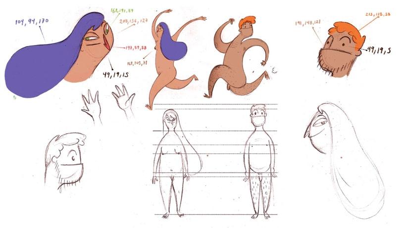 Corto de animación: 'El Jardín de las Delicias' de Llamarada 1