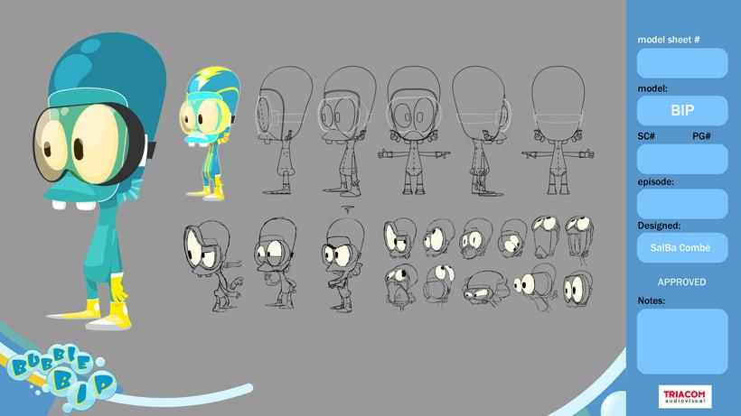 BUBBLE BIP (3D animation TV serie) 2