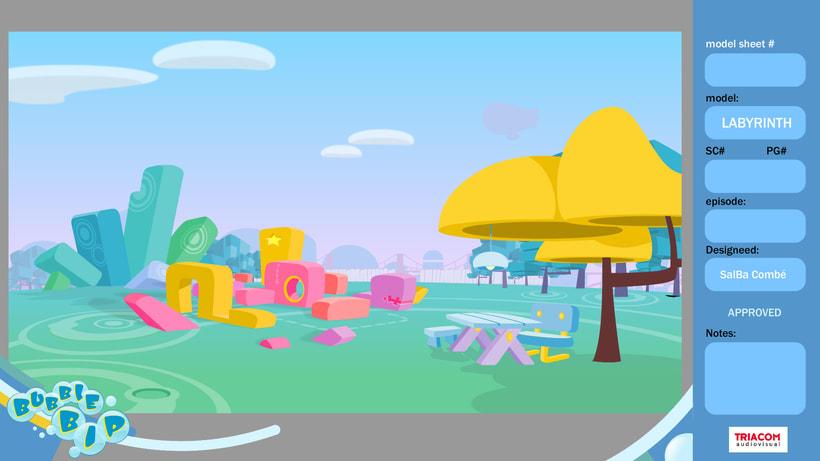 BUBBLE BIP (3D animation TV serie) 11