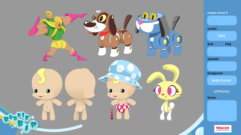 BUBBLE BIP (3D animation TV serie) 21