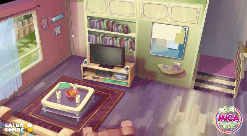 MICA. READY, STEADY, JUMP (3D animation TV serie) 2
