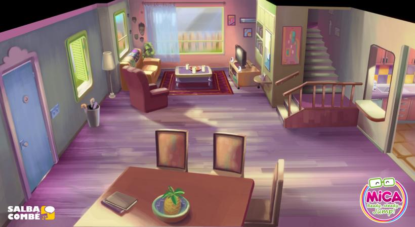 MICA. READY, STEADY, JUMP (3D animation TV serie) 3