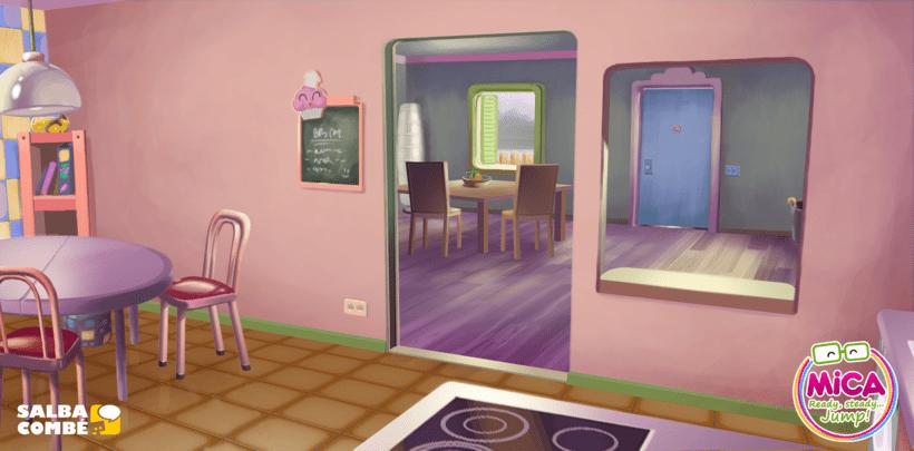 MICA. READY, STEADY, JUMP (3D animation TV serie) 4