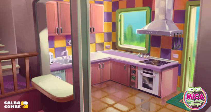 MICA. READY, STEADY, JUMP (3D animation TV serie) 5