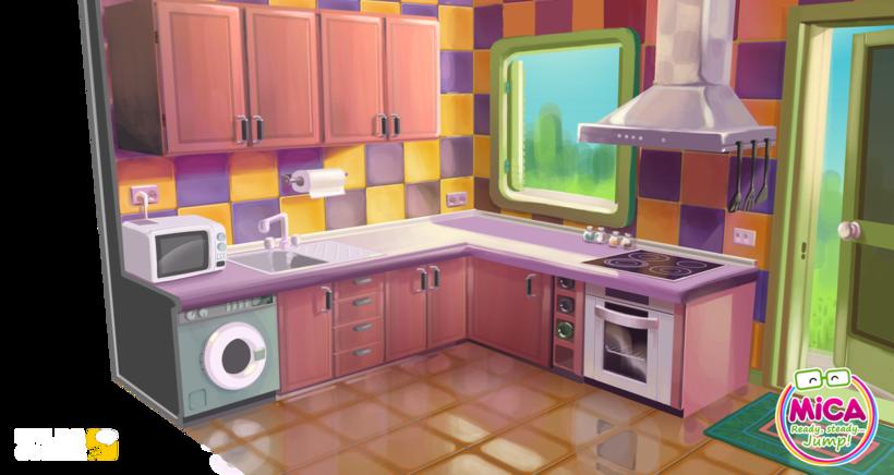 MICA. READY, STEADY, JUMP (3D animation TV serie) 6