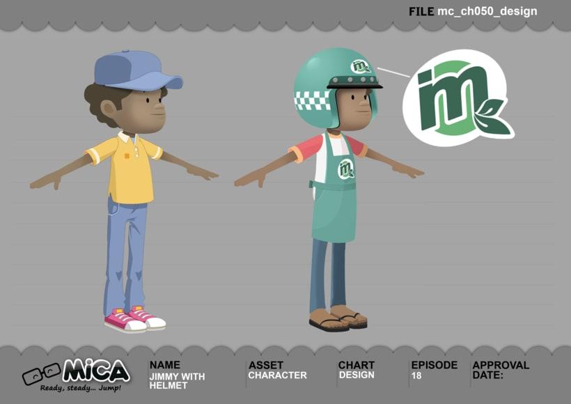 MICA. READY, STEADY, JUMP (3D animation TV serie) 11