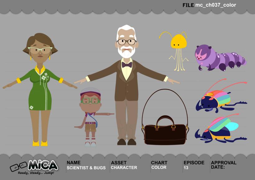 MICA. READY, STEADY, JUMP (3D animation TV serie) 13