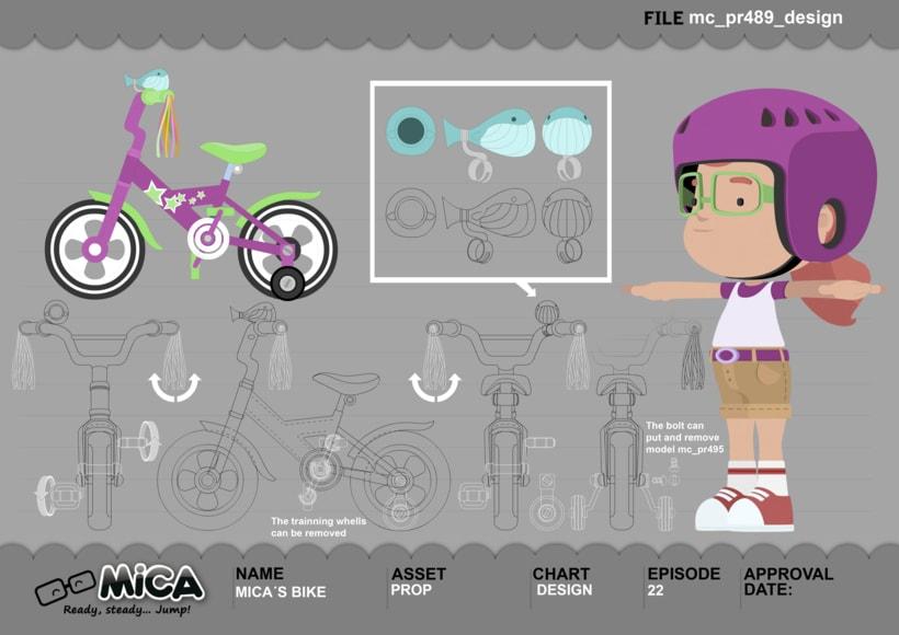 MICA. READY, STEADY, JUMP (3D animation TV serie) 16