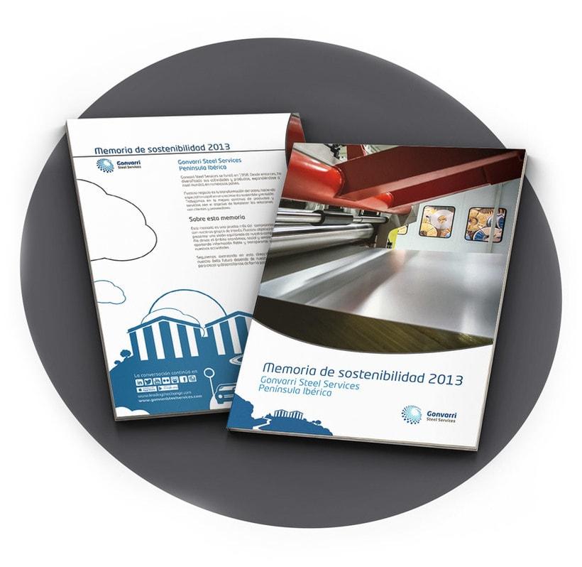 Memoria de sostenibilidad Gonvarri Steel Services PI 2013 1