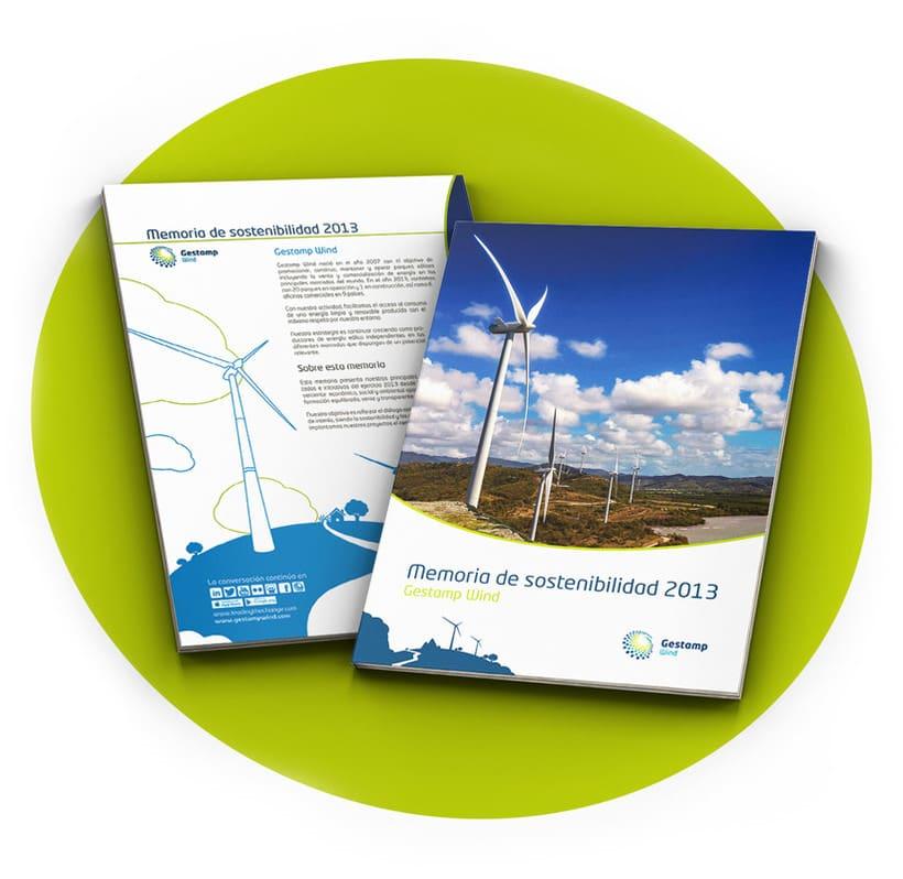 Memoria de sostenibilidad Gestamp Wind 2013 1