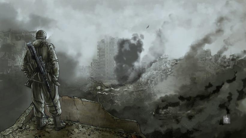 Decadencia. Animación ilustrada. 2016 2