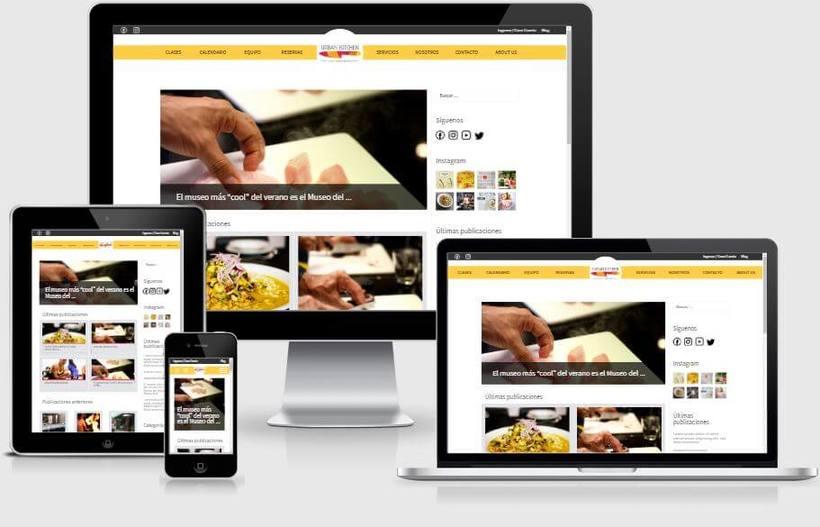 Urban Kitchen - Actualización de la Web y desarrollo del blog 1