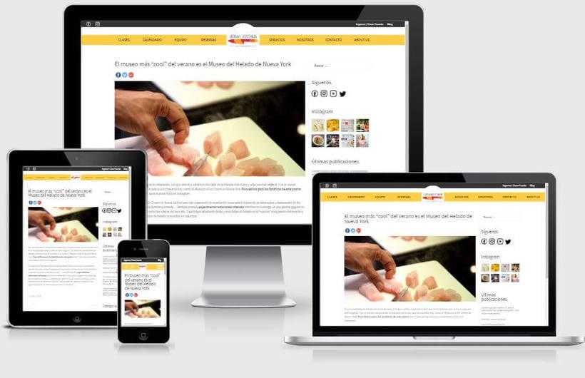 Urban Kitchen - Actualización de la Web y desarrollo del blog 3