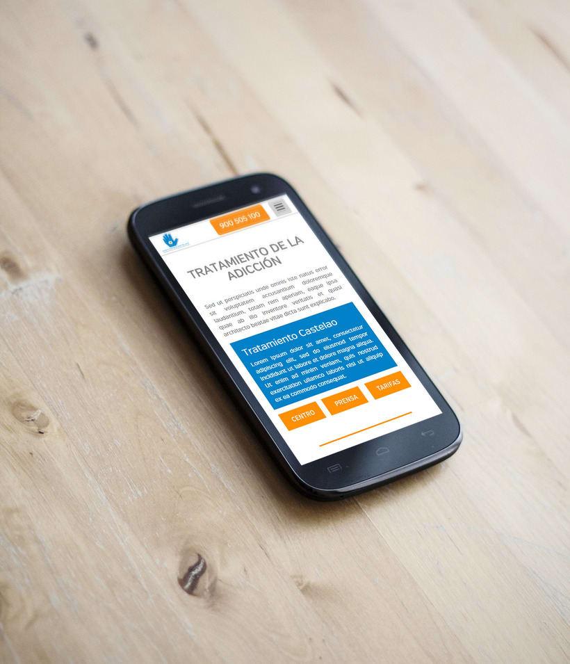 Diseño Gráfico y Web: Landings, banners, página web, folleto,... 2
