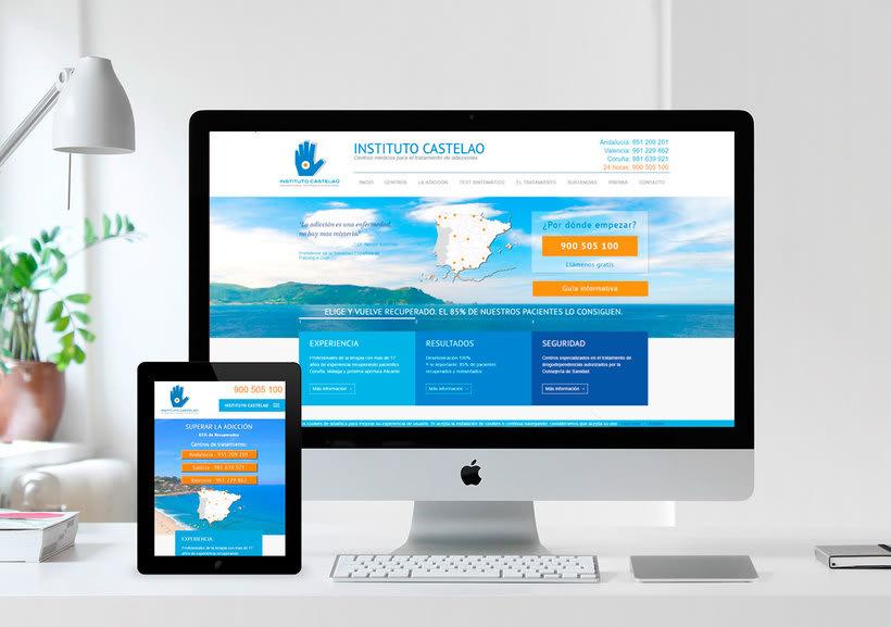 Diseño Gráfico y Web: Landings, banners, página web, folleto,... 0