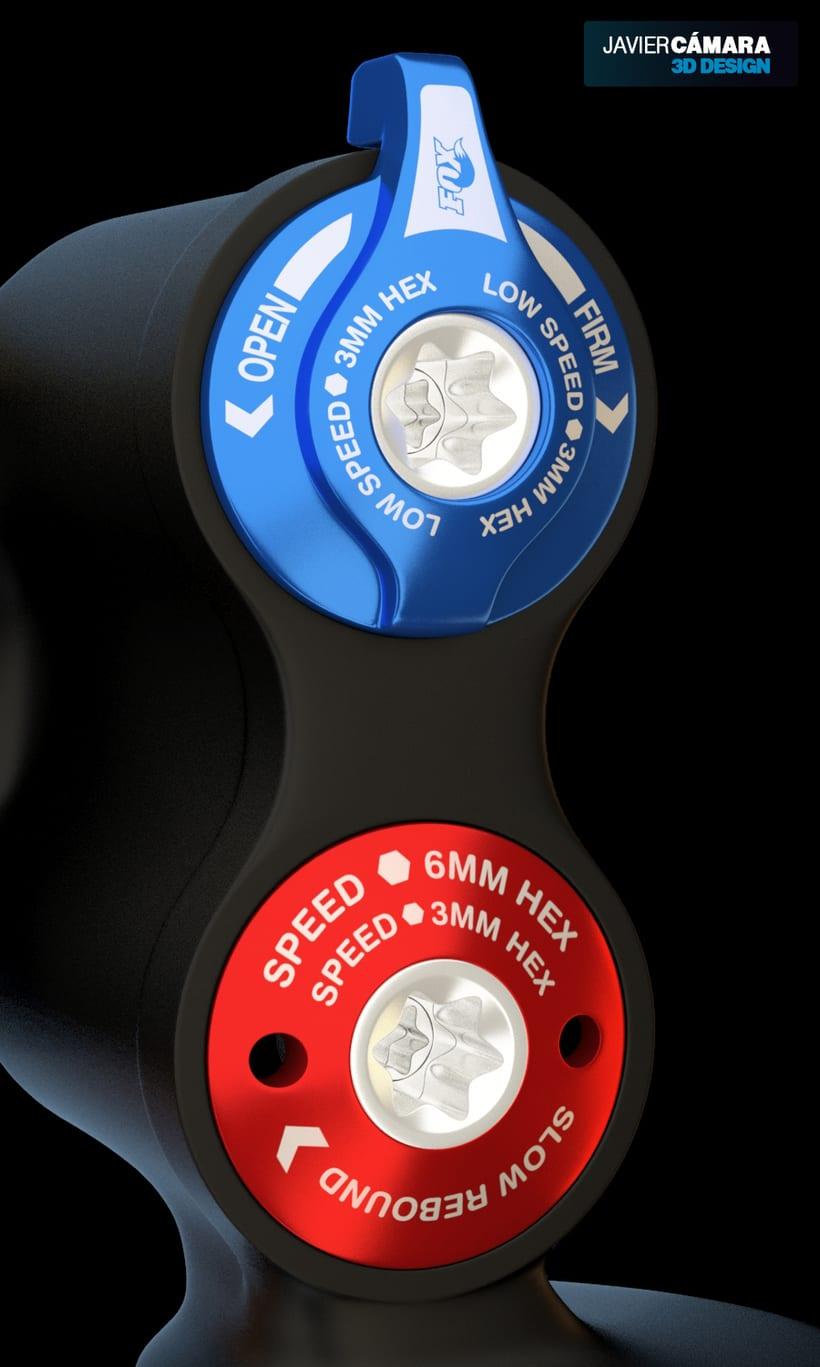 3D - Fox Float X2 Bike Shock 6