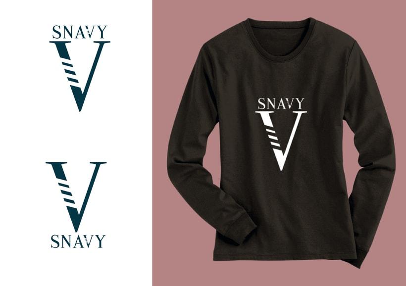 Identidad Gráfica. Snavy (marca de ropa) 18