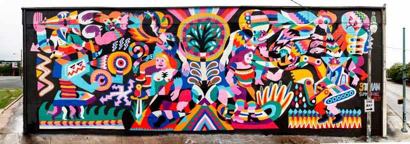 Arte urbano primigenio de la mano de 3ttman 3