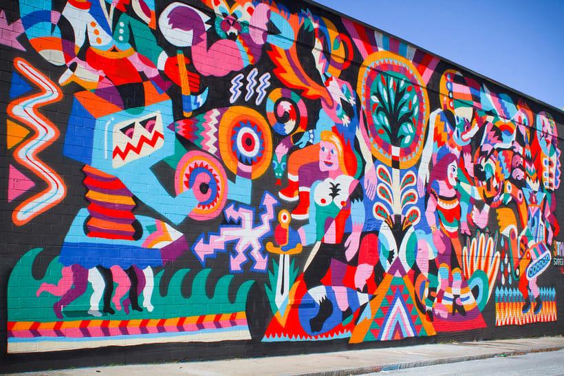 Arte urbano primigenio de la mano de 3ttman 4