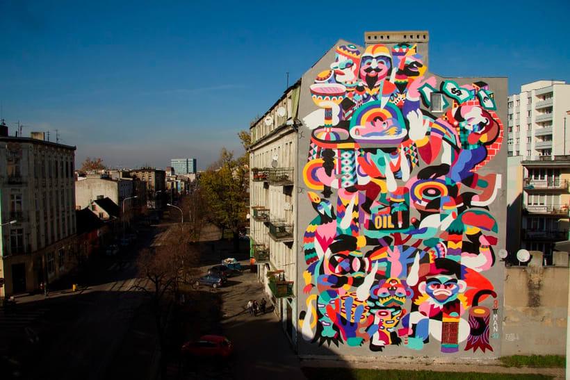 Arte urbano primigenio de la mano de 3ttman 10