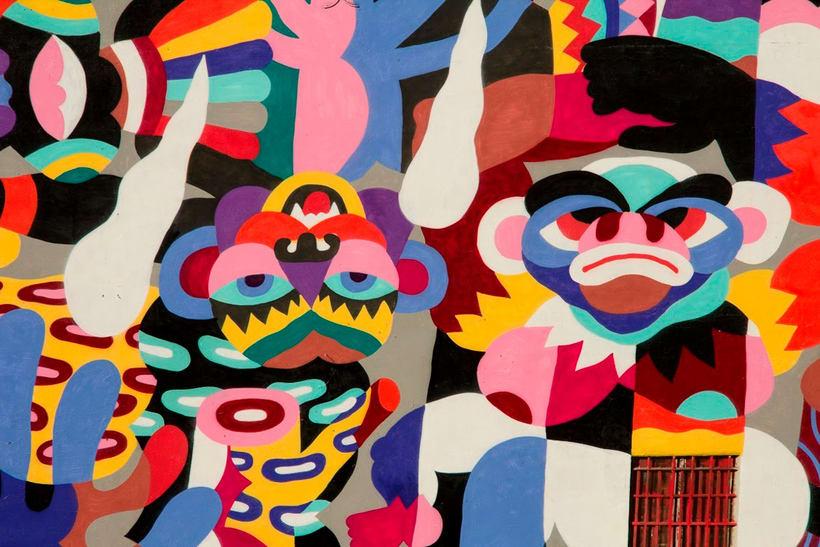 Arte urbano primigenio de la mano de 3ttman 12