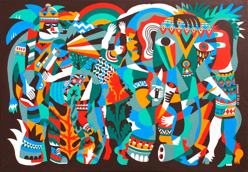 Arte urbano primigenio de la mano de 3ttman 15