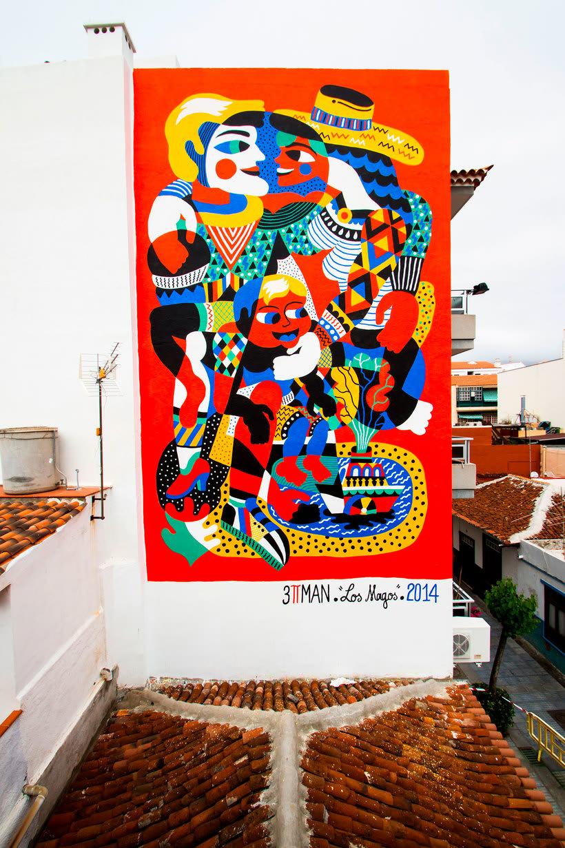 Arte urbano primigenio de la mano de 3ttman 20