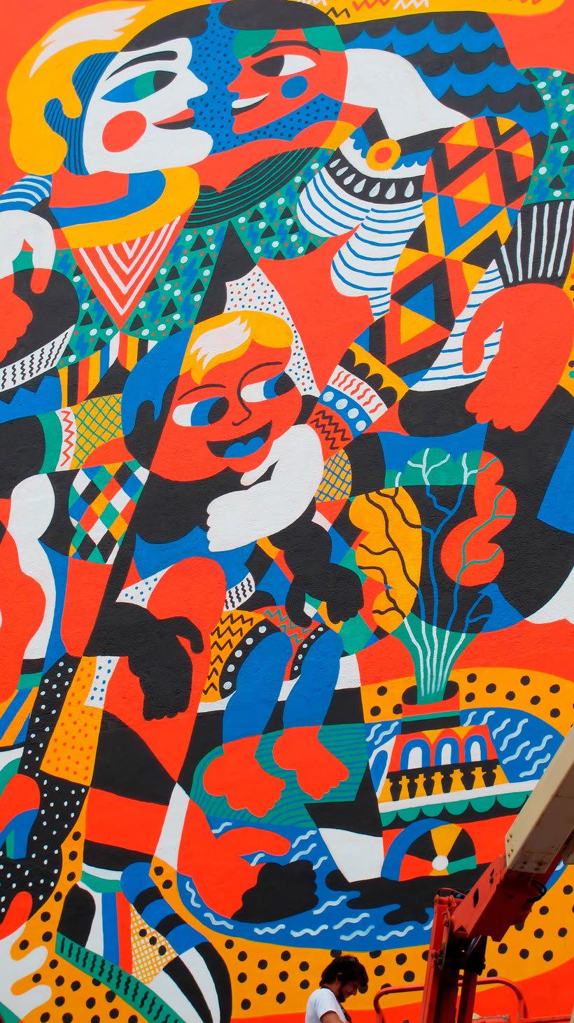 Arte urbano primigenio de la mano de 3ttman 19