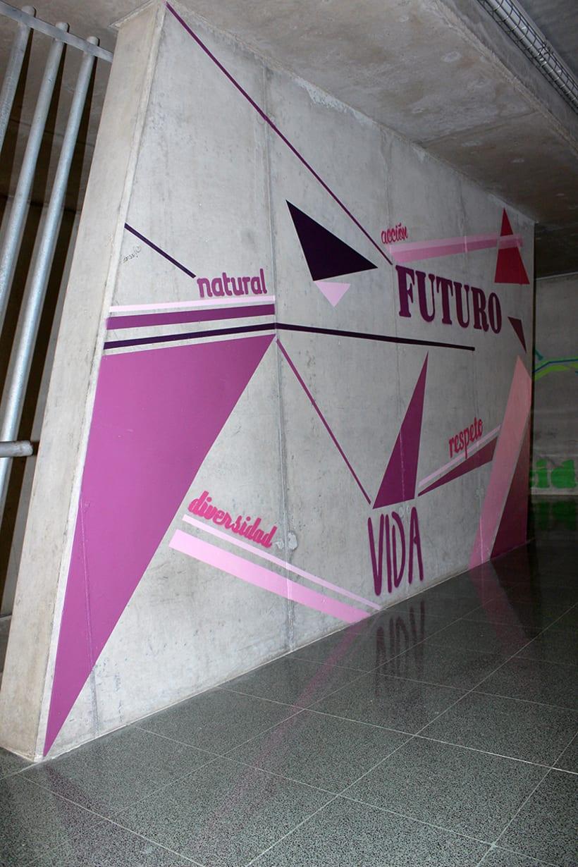 Murales IES Josefina de la Torre 5