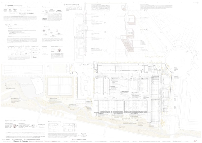 Creation Conector! | Working space for creatives in an old industrial site in Madrid, majoring in sustainable design | ETSAM 2015 | Final architectural thesis 2