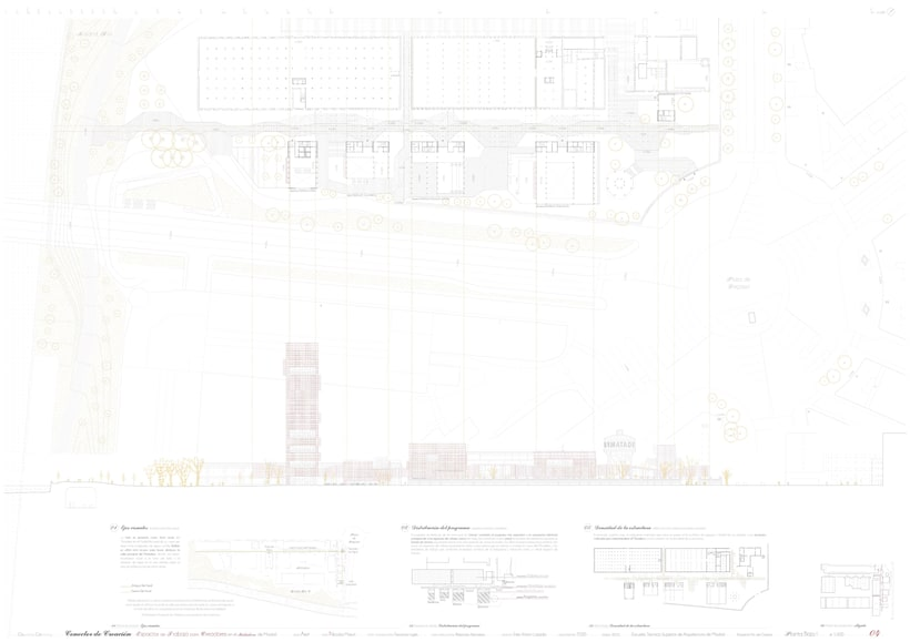 Creation Conector! | Working space for creatives in an old industrial site in Madrid, majoring in sustainable design | ETSAM 2015 | Final architectural thesis 3
