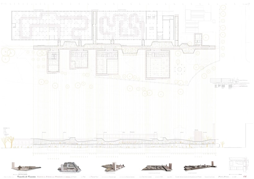 Creation Conector! | Working space for creatives in an old industrial site in Madrid, majoring in sustainable design | ETSAM 2015 | Final architectural thesis 5
